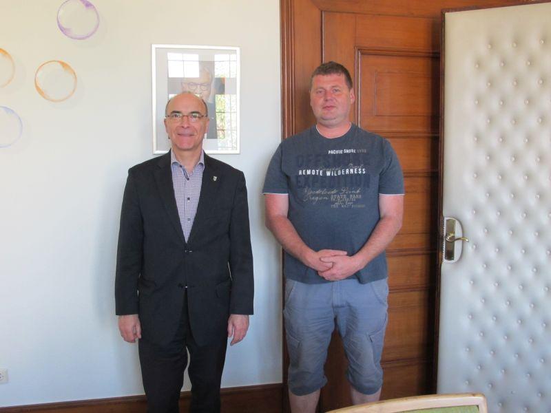 Neuer Mitarbeiter Michael Schmidt Stadt Elzach